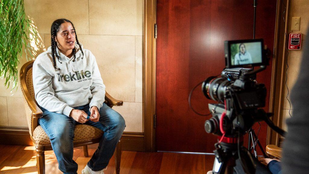 Interviewing Anastacia